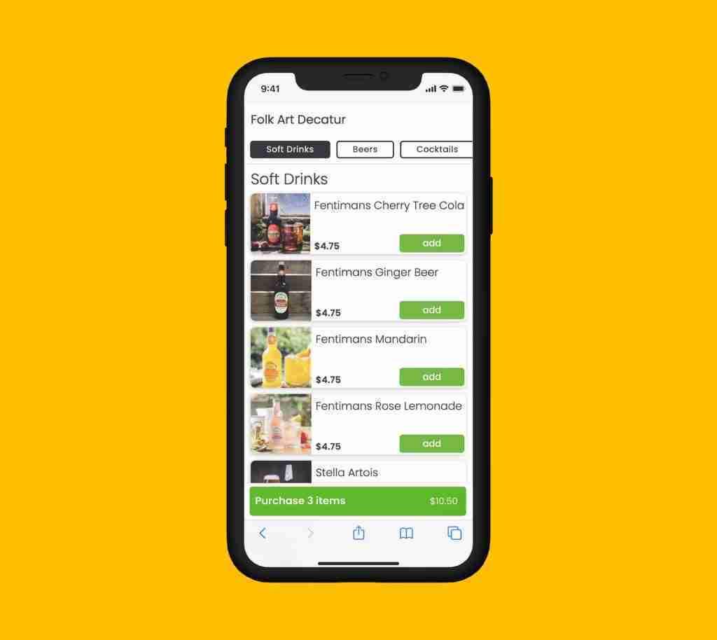 App-Carbonara-Precommander-Menu-fonctionnalite