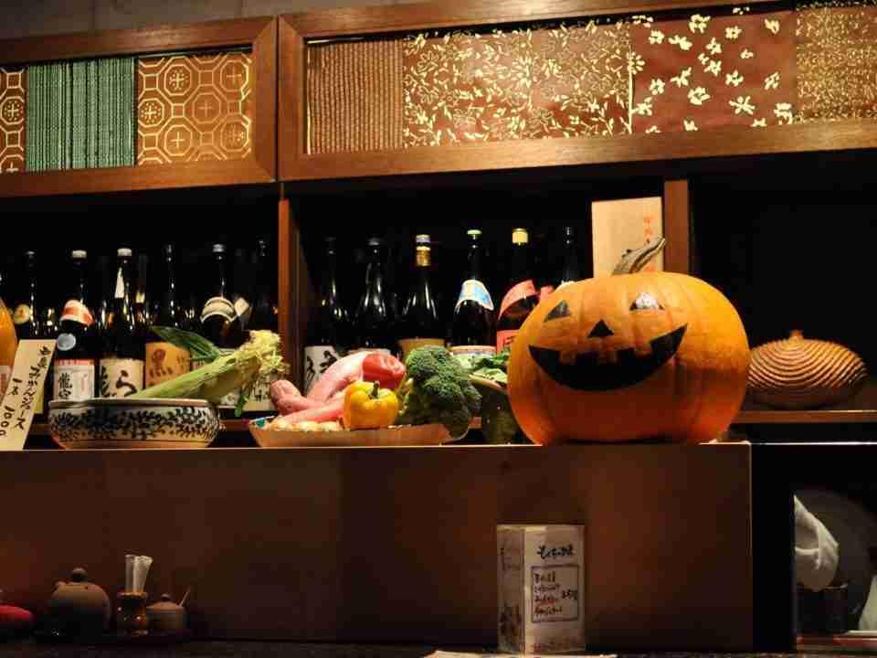 Mokuchi-restaurant-on-Halloween